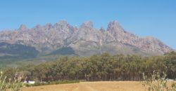 7 ha in Bainskloof with Good Views